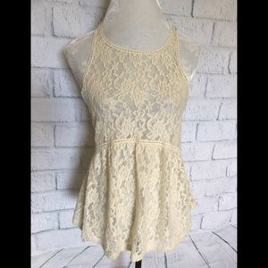 NWT Express lace swing top